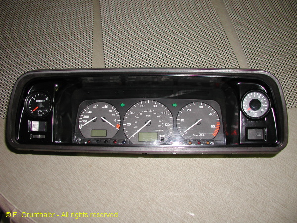 Frank G.'s modified instrument cluster (1/6)