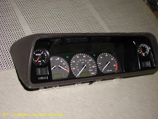 Frank G.'s modified instrument cluster (3/6)