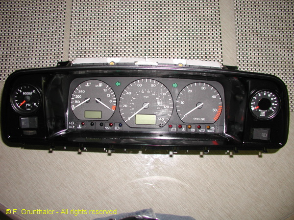 Frank G.'s modified instrument cluster (6/6)
