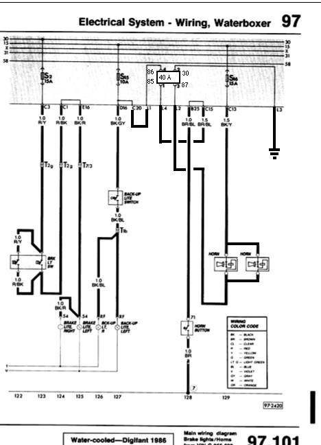Dual horn relay and wiring   shooftieshooftie
