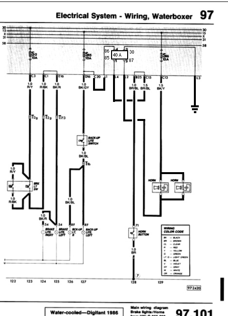 Wiring Diagram Twin Horns : Dual horn relay and wiring shooftie