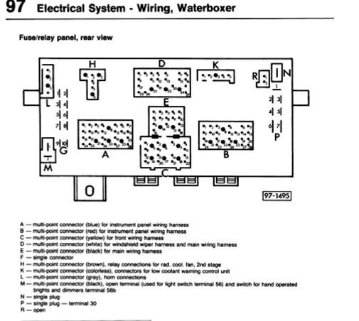Vanagon Fuse Box Diagram | Wiring Diagram on