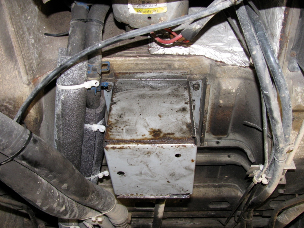 Vanagon syncro gear shift lever maintenance (5/6)