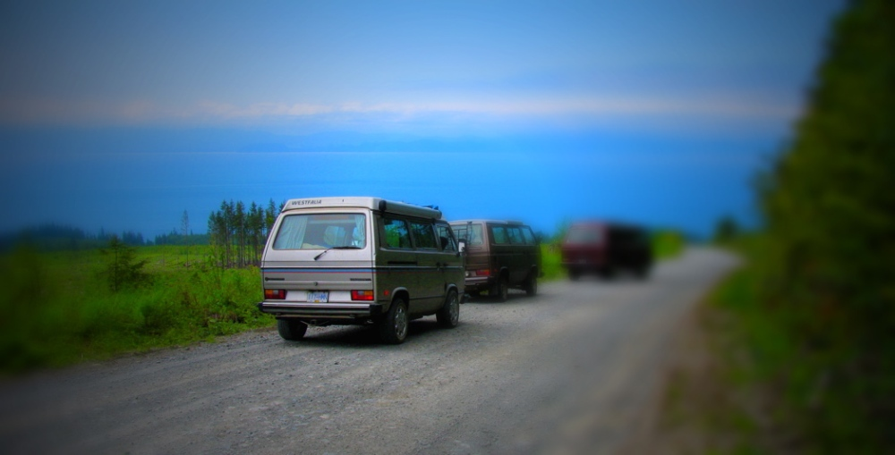 June weekend trip with 3 Vanagons (1/6)