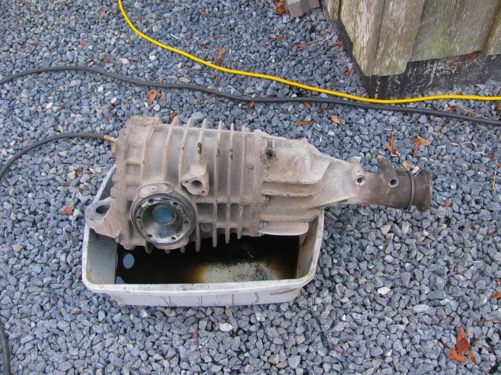 Vanagon - syncro viscous coupling replacement (1/6)