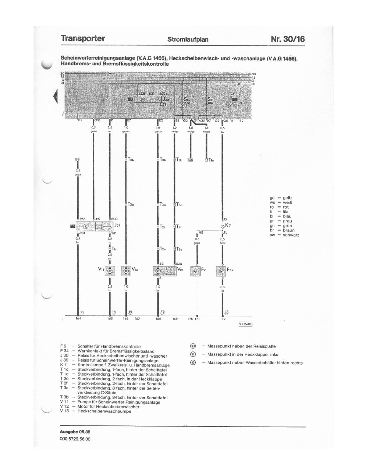 T3 Headlight Diagram