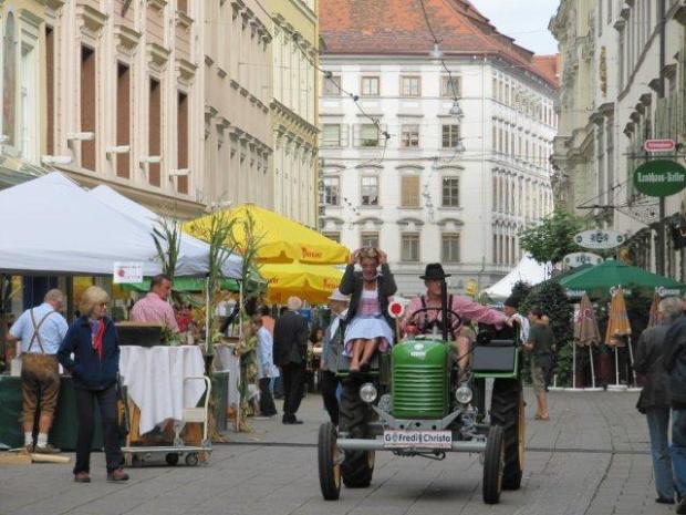 Graz street scene