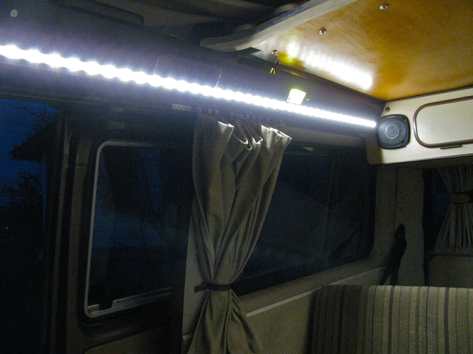 Vanagon – interior lighting with led | shooftie