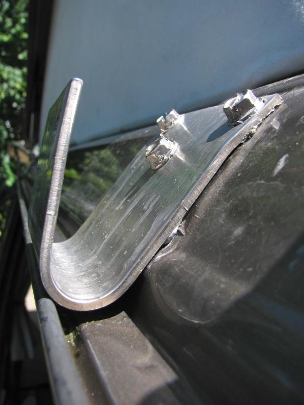 bracket installed
